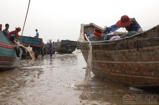 Photoshop合成日落黄昏的渔港